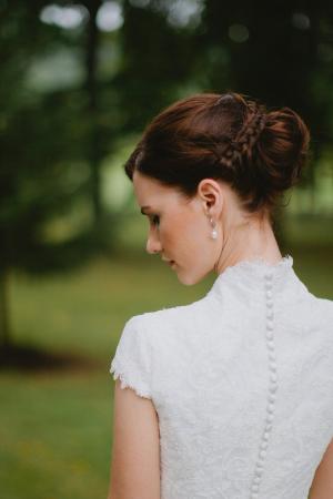 Braided Bridal Chignon Hair Ideas