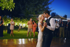 Bride and Groom First Dance From Deyla Huss Photography