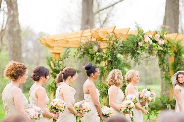 Bridesmaids at Floral Arbor