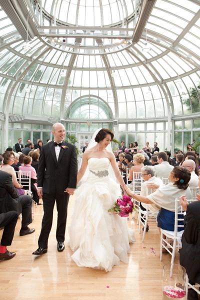 brooklyn botanical garden wedding - Botanical Garden Wedding