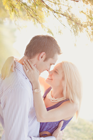 Casual Outdoor Engagement Session From Matt and Ivy Photography 1