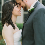 Classic Strapless Bridal Gown
