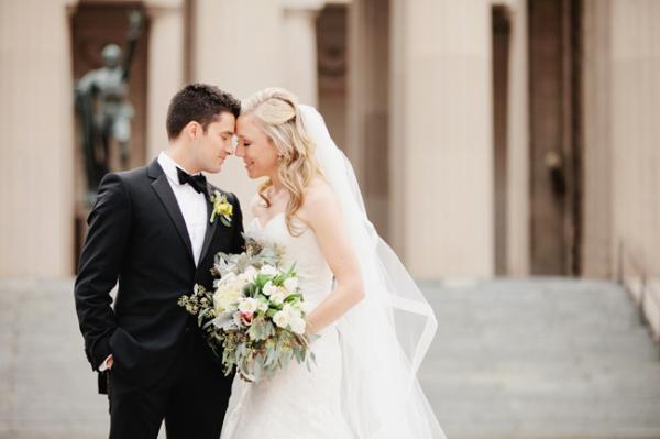 Classic Wedding Portrait From Kristyn Hogan