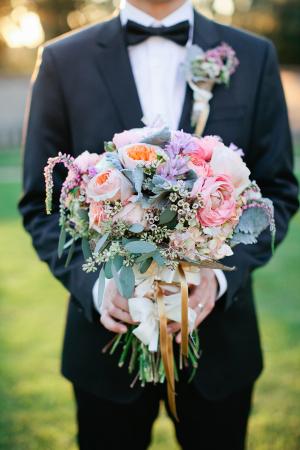 Colorful Pink Purple Bouquet