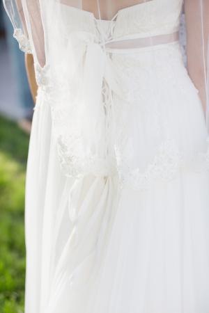 Corset Back Wedding Gown