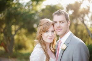 Couple Outdoor Wedding Portrait From Josselyn Peterson Photographer