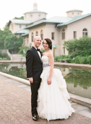 Couple Portrait at Brooklyn Botanic Gardens From Karen Hill Photography