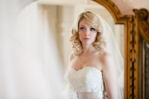 Curled Bridal Hair