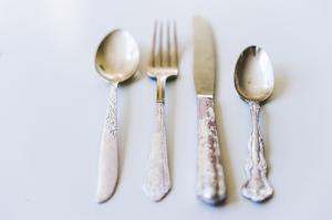 DIY Vintage Silverware Craft