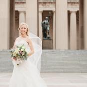 Downtown Nashville Bridal Portrait From Kristyn Hogan