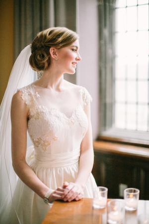 Elegant Bridal Updo Ideas