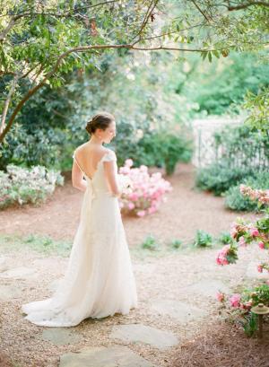 Elegant Southern Bridal Portrait