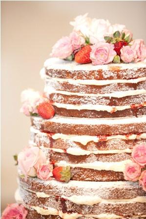 Gingerbread Naked Cake