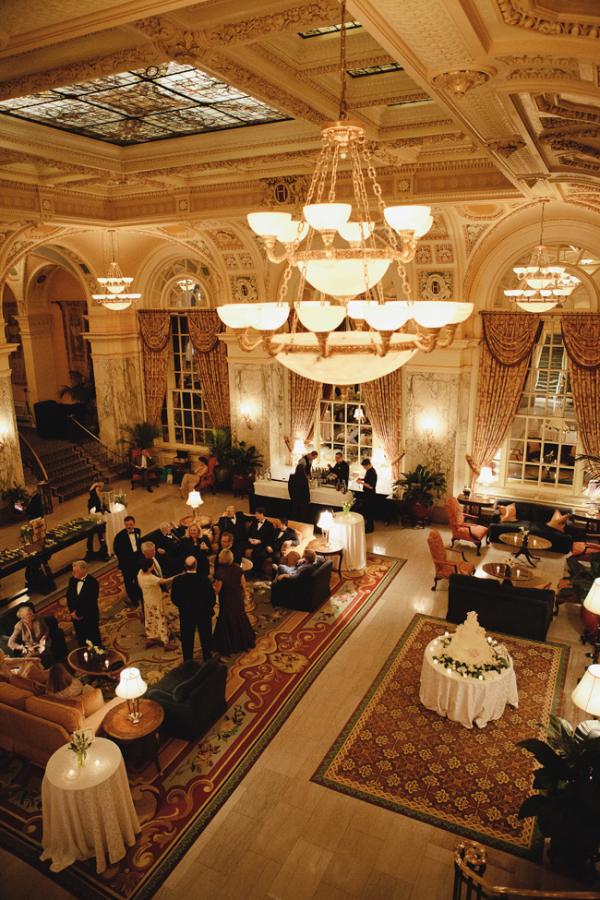 Hermitage Hotel Nashville Reception Venue Elizabeth Anne Designs