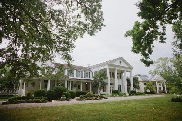 Historic Whitehall Manor Virginia Reception Venue