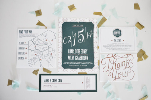 Invitation Suite and Thank You Note