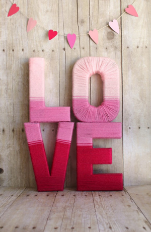 LOVE Yarn Letters