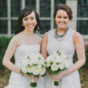 Light Taupe Bridesmaids Shift