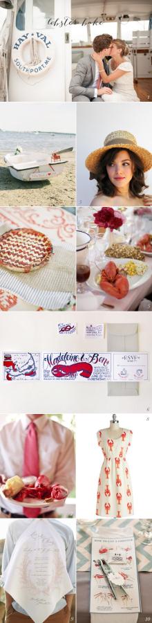 Lobster Bake Wedding Ideas