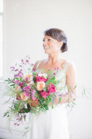 Magenta and Purple Bouquet