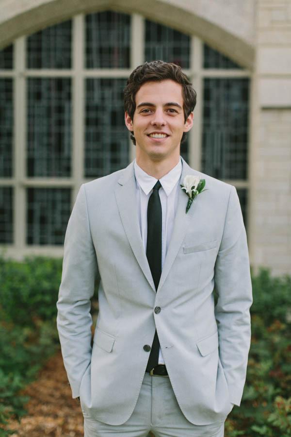 Modern Gray Suit