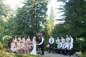 Outdoor Oregon Garden Ceremony