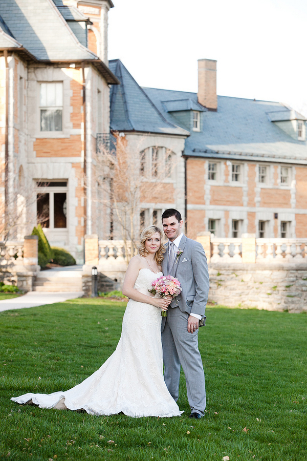 Outdoor Wedding Portrait From Ashley Bartoletti Photography
