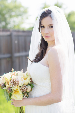 Pale Yellow and Green Bouquet