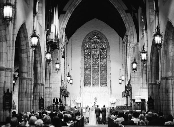 Palm Beach Church Wedding Ceremony