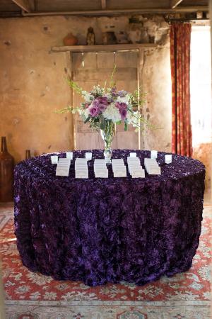 Purple Velvet Linens