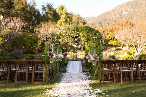 San Ysidro Ranch Santa Barbara Wedding Venue