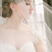 Sheer Cathedral Length Veil