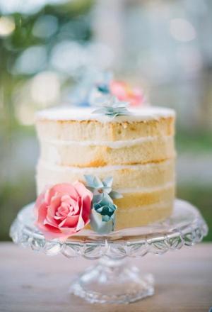 Small Naked Yellow Cake