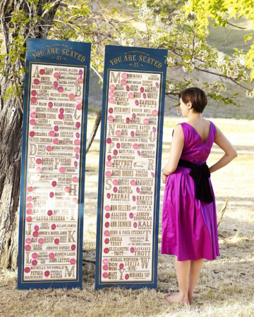 Tall whimsical wedding seating chart elizabeth anne designs the tall whimsical wedding seating chart junglespirit Gallery