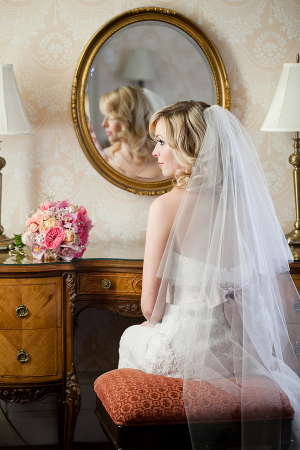 Watters Gown and Veil