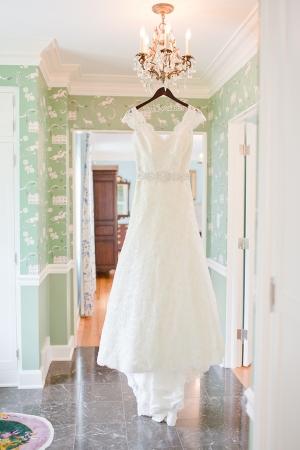 Wire Name Wedding Dress Hanger