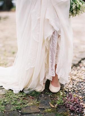 Silk Lace Custom Wedding Gown