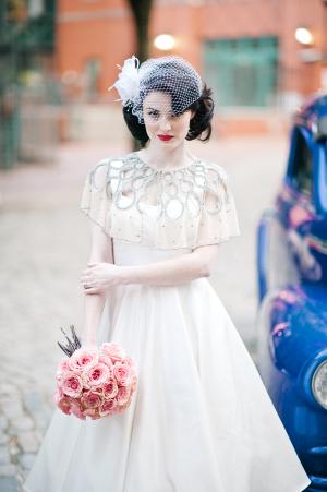1950s Vintage Bridal Dress