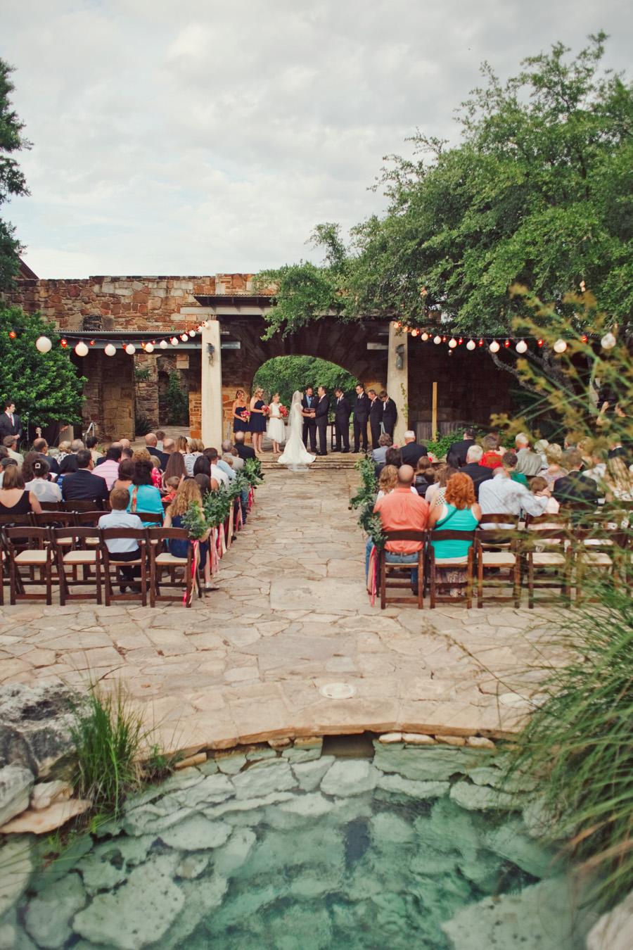 Austin Texas Garden Wedding Venue - Elizabeth Anne Designs The Wedding Blog
