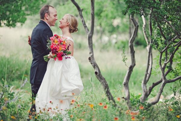 Austin Texas Wedding Portrait From The Nichols