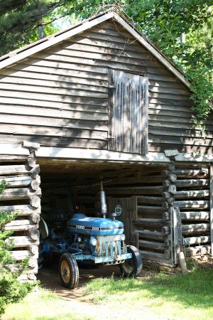 Barn Wedding Tractor