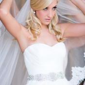 Beaded Art Deco Headband Bridal Hair Accessories