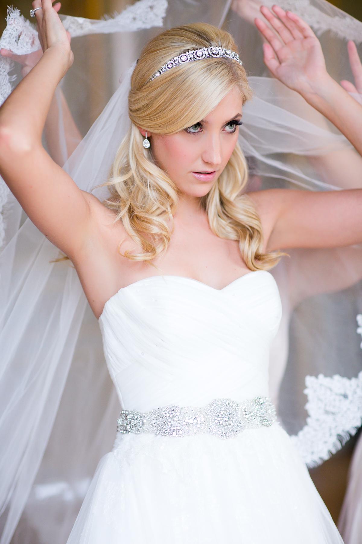 Beaded Art Deco Headband Bridal Hair Accessories - Elizabeth Anne ... de5fa58cc2e