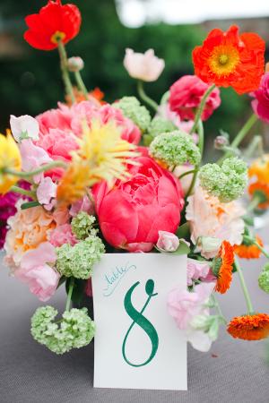 Bright Garden Floral Arrangement