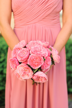 Bright Pink Poppy Bouquet