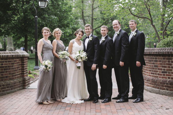 Classic Gray and Black Bridal Party - Elizabeth Anne Designs: The ...