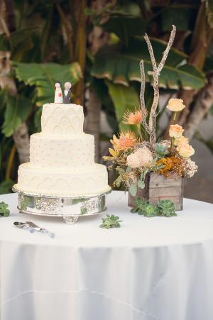 Classic Three Tier Wedding Cake