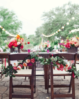Colorful Chair Garland