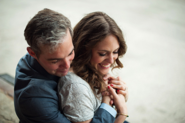 Couple Engagement Portrait From Julia Franzosa Photography