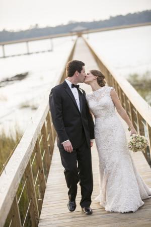 Couple on Lowcountry Bridge